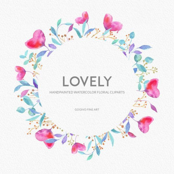 Free Lovely FLoral Cliparts