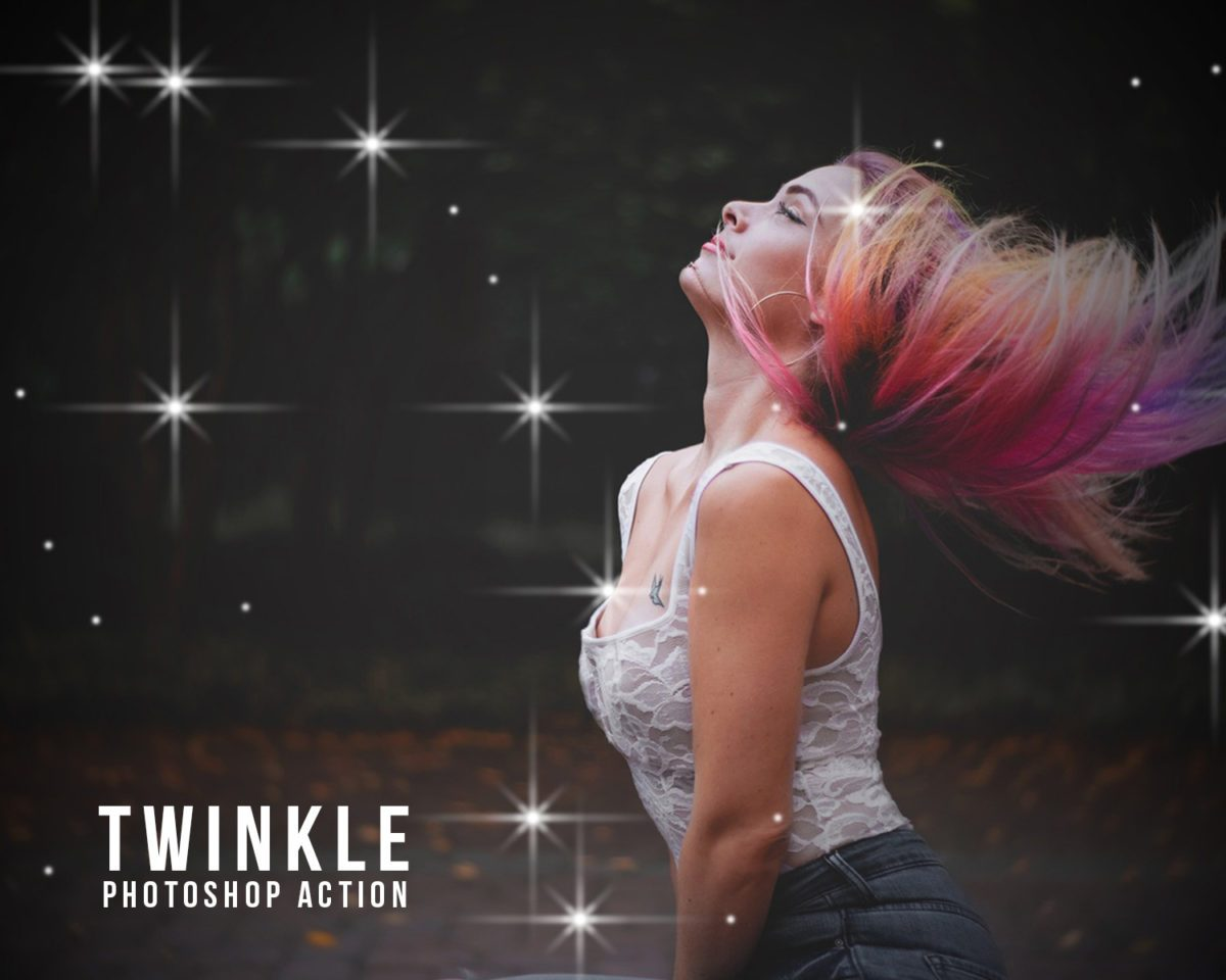 twinkle photoshop action