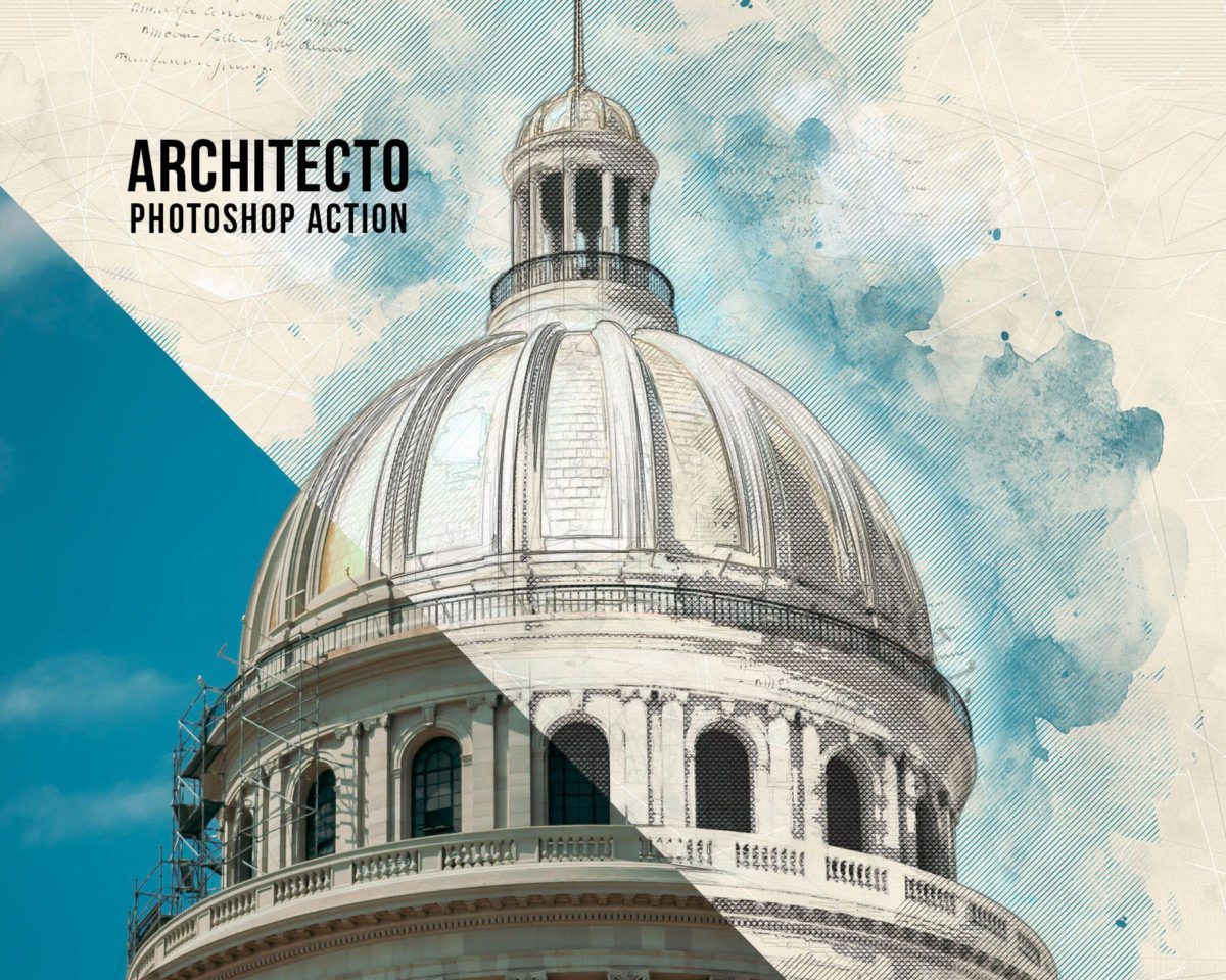 Architecto Photoshop Action Preview_1