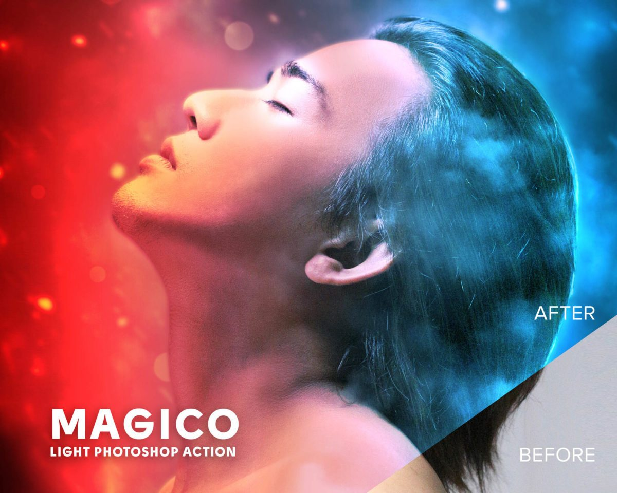 Free Magico Light Photoshop Action Preview_1