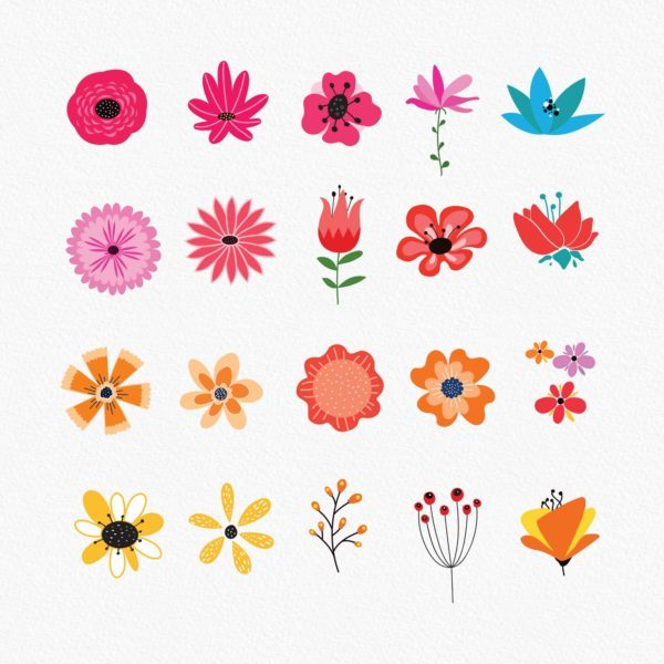40 Vintage floral cliparts_Preview_2