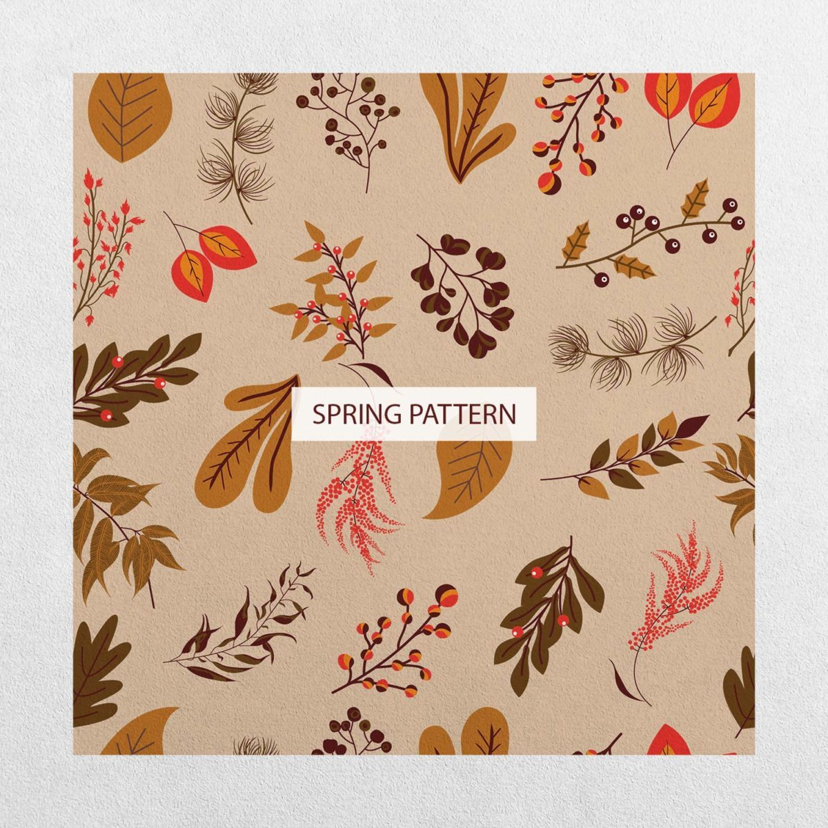 Spring Floral Clipart Collection_pattern