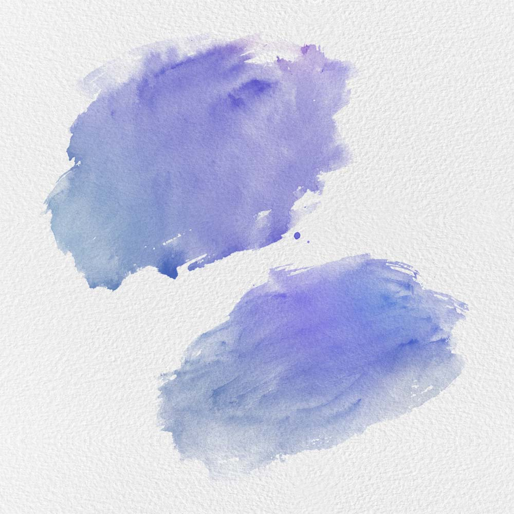 Free Ocean 10 Watercolor Photoshop Brushes
