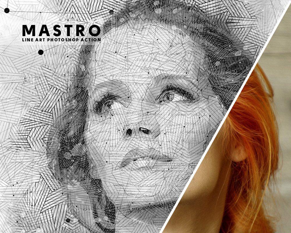 Mastro Photoshop Action