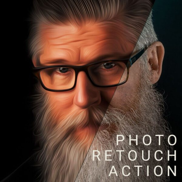 One Click Photo Retouch Skin Photoshop Action