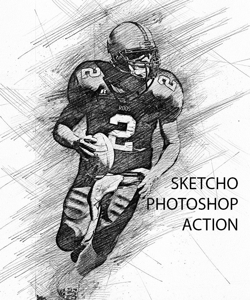 Sketcho photoshop action