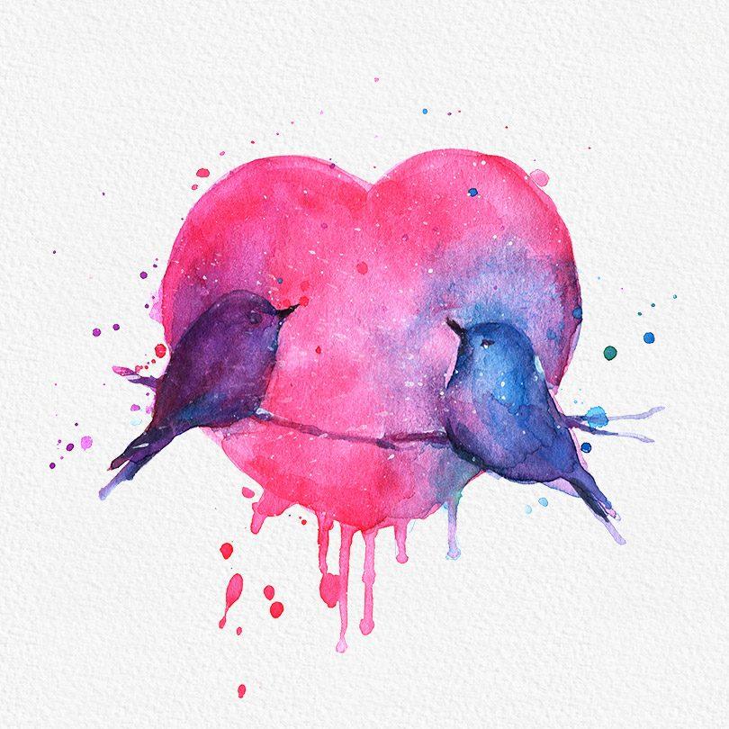 Gogivo_6086_love birds clipart