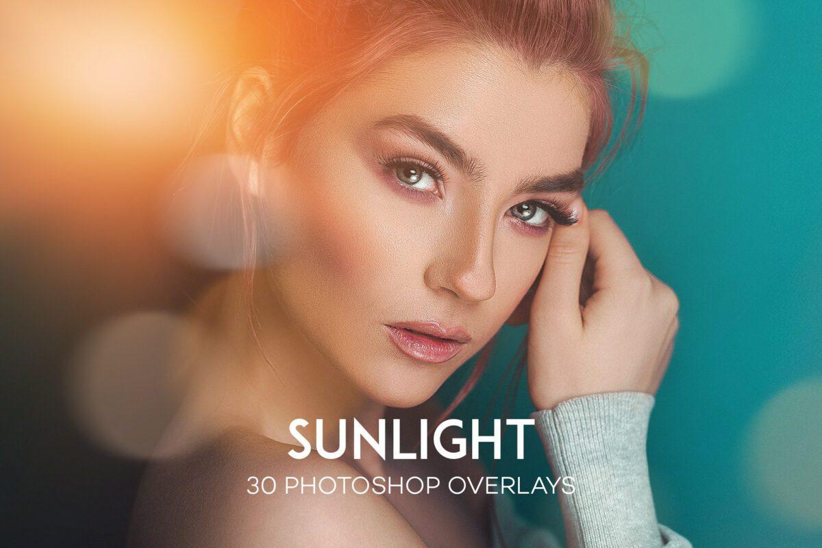 30 SunLight Photoshop Overlay