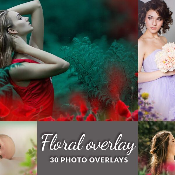 Floral-Overlays